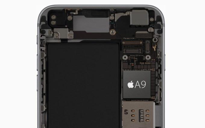 Układ A9 w iPhone'ie 6s i 6s Plus