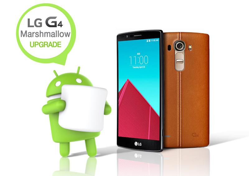 Aktualizacja smartfonów LG G4 do Androida 6.0 MArshmallow w Polsce
