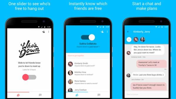 Who's Down – nowa aplikacja Google'a
