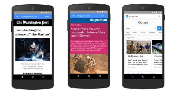 Accelerated Mobile Pages – Google przyspiesza strony mobilne