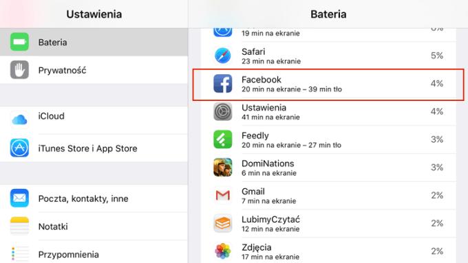 Jak sprawdzić ile czasu działała aplikacja mobilna w tle pod iOS-em 9