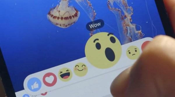 """Obok """"Lubię to"""" na Facebooku pojawi się 6 emotikon"""