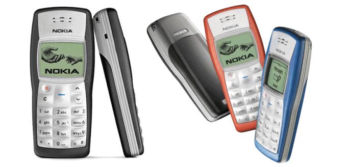Najlepiej sprzedający się telefon komórkowy na świecie - Nokia 1100