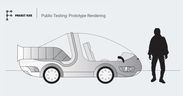 "Project Flux – ""tajny"" samochód Google"