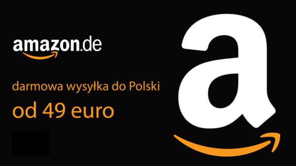 Darmowa wysyłka z niemieckiego sklepu Amazon