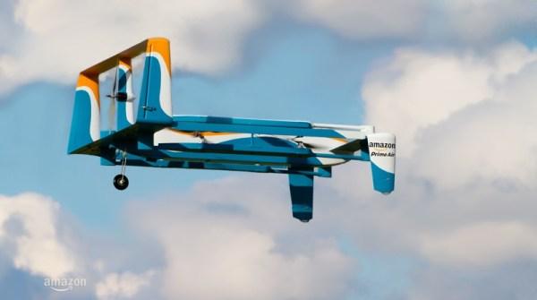 Nowy dron dostawczy Amazon Prime Air