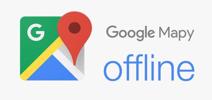 Google Mapy w trybie offline na urządzenia mobilne