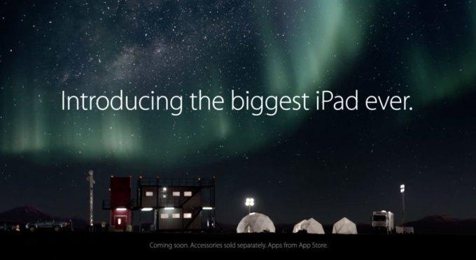 iPad Pro - Introducing the biggest iPad ever.