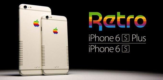 iPhone 6s i 6s Plus w wersji retro