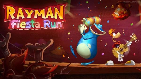 Gra Rayman Fiesta Run za darmo na iOS-a