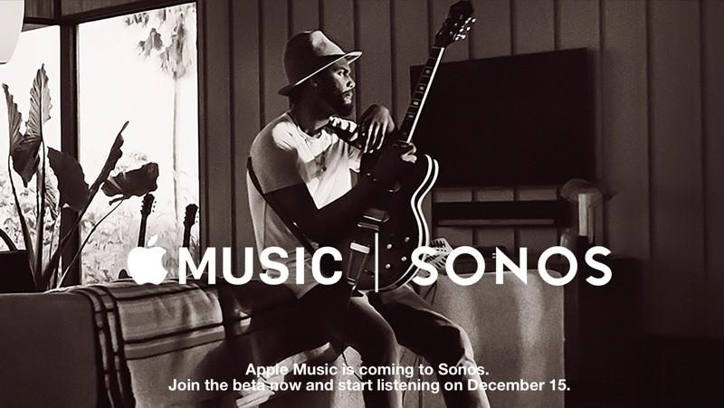 Apple Music w głośnikach Sonos już 15 grudnia 2015