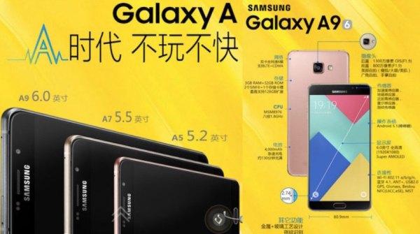 Samsung Galaxy A9 – specyfikacja techniczna