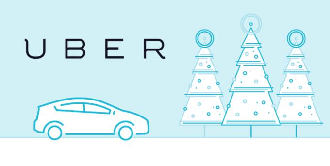 UberCHOINKA - Uber przywozi choinki do domu za 70 zł