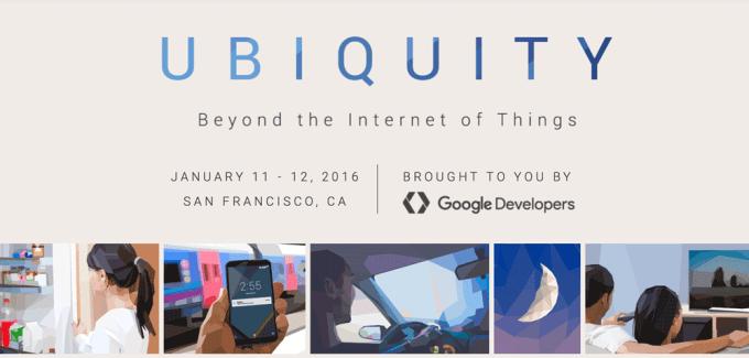 Ubiquity 2016 (konferencja Google)