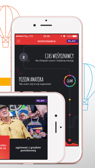 Aplikacja mobilna 24. WOŚP - screen (iOS i Android)