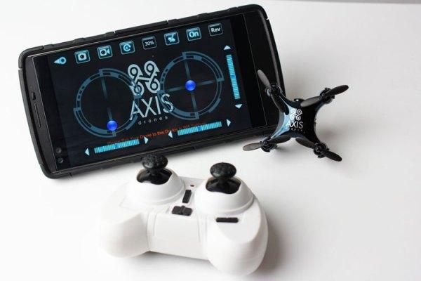 Axis Vidius to najmniejszy dron z kamerą