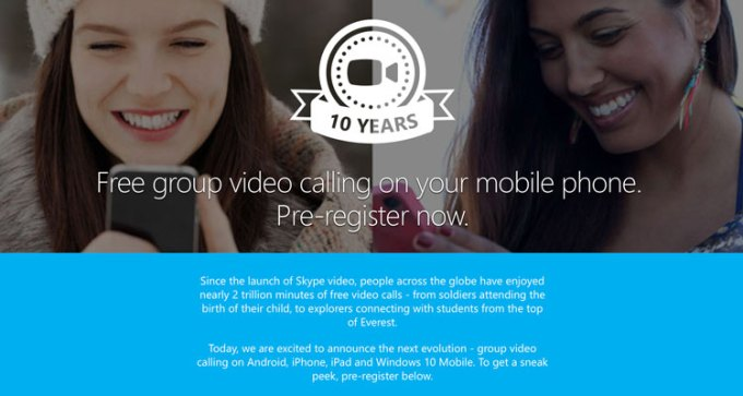 Darmowe grupowe wideokonferencje Skype