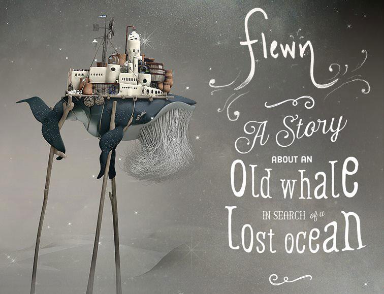 Flewn - epicka opowieść o starym wielorybie na iOS-a