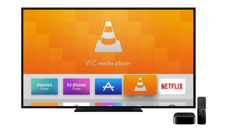 VLC Media Player na Apple TV 4. generacji