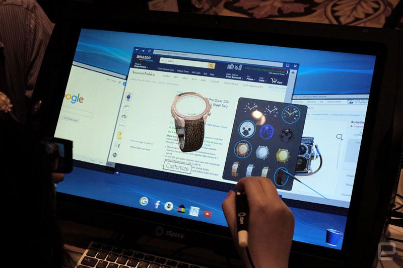 Przeglądarka internetowa virtual reality od zSpace