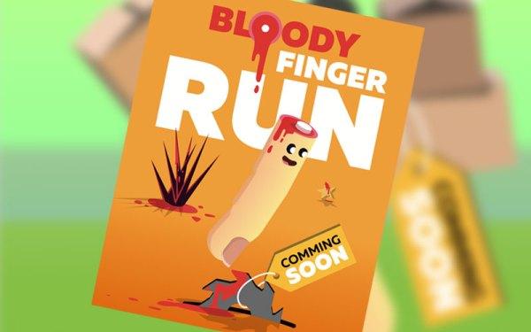 Bloody Finger JUMP – uwaga na palce!