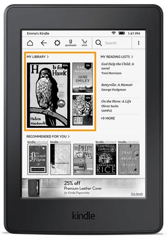 Ekran główny Kindle 5.7.2