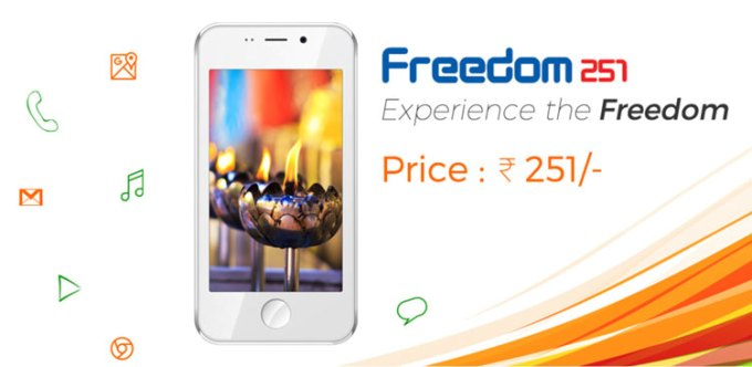 Freedom 251 - najtańszy smartfon świata za 15 zł