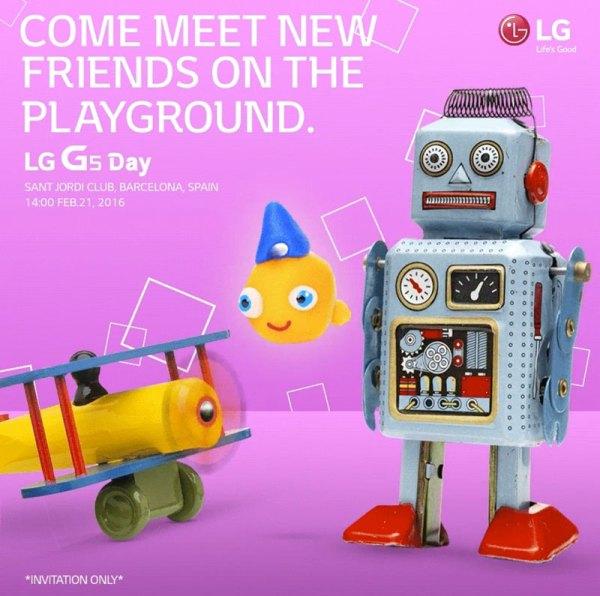 LG G5 zostanie zaprezentowany 21 lutego
