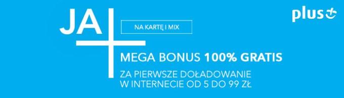 Doładowanie telefonu na kartę w Plusie (100% gratis)
