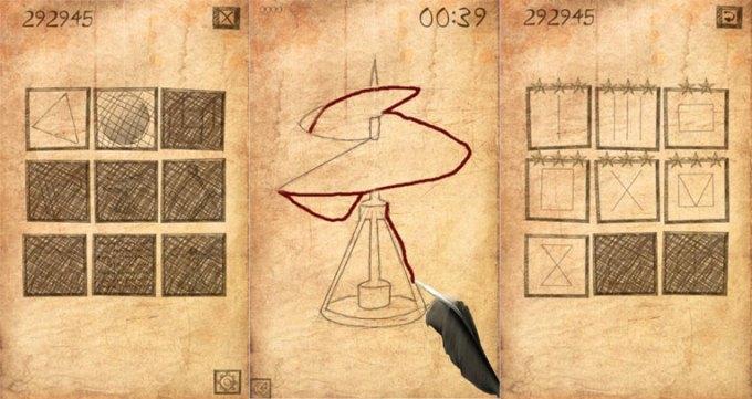 Screeny z gry R-Draw na Androida
