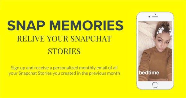 Jak zapisać swoje Snapchat Stories na telefonie?