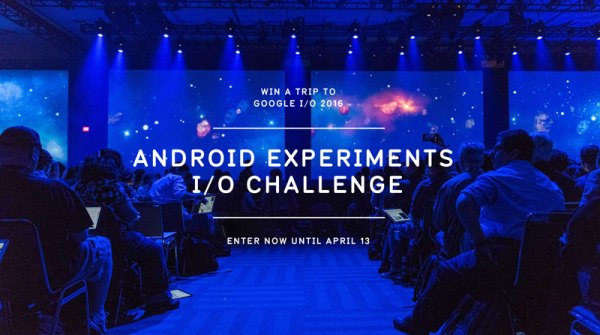 Android Experiments I/O Challenge od Google