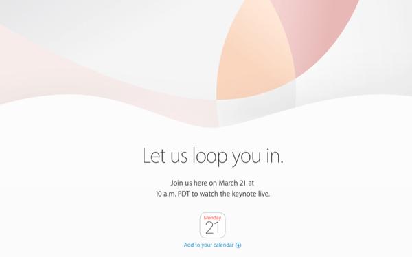 Konferencja Apple oficjalnie już 21 marca 2016