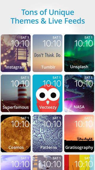 Aplikacja Facer na iPhone'a - screen