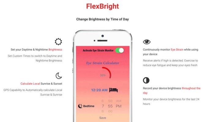 Aplikacja mobilna FlexBright na iOS-a
