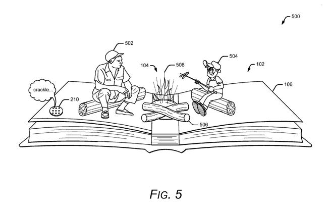 AR w książkach (patent Google)