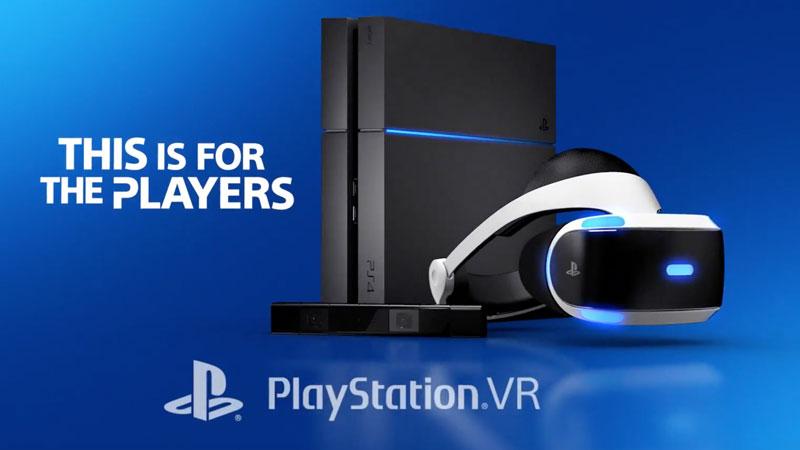 PlayStation VR i PlayStation 4