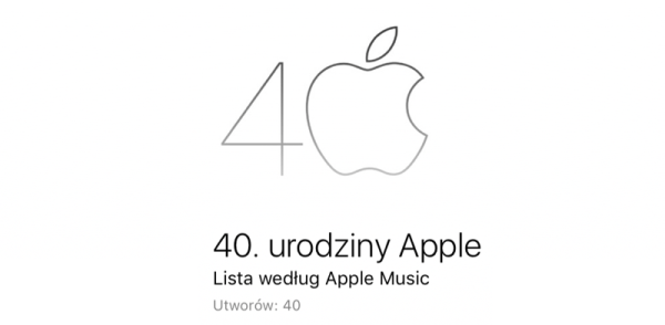 Playlista Apple Music z okazji 40-lecia