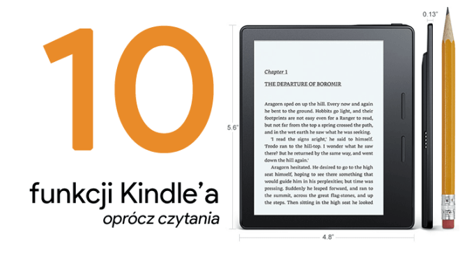 10 przydatnych funkcji czytników Kindle - oprócz czytania