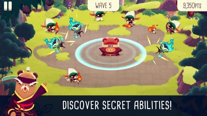 Bushido Bear - mobile game