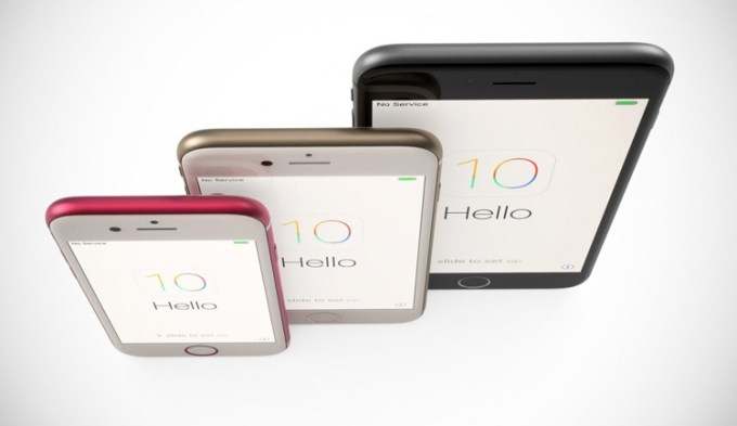 iPhone 7 Pro (7 Plus) - koncept i róznice