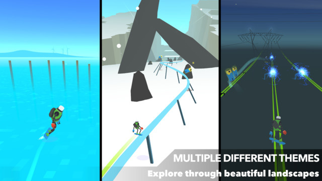 Screen z aplikacji Power Hover