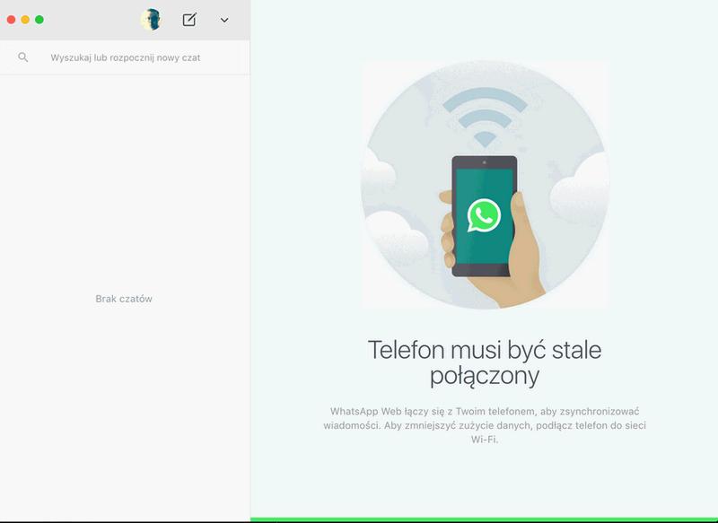podłącz teraz aplikację