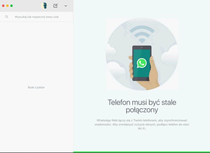Aplikacja WhatsApp na komputery Mac i z systemem Windows