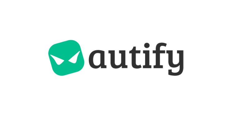 Autify - logo app