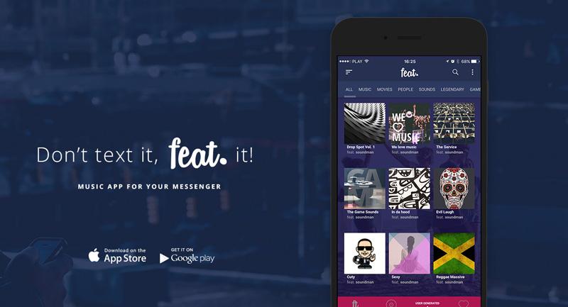 Feat it aplikacja muzyczna