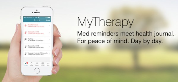 MyTherapy przypomni Ci o leczeniu