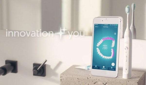 Nowa szczoteczka Sonicare Philipsa połączy się z iPhone'em