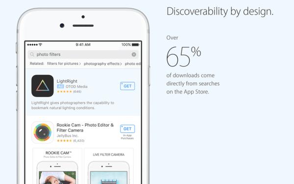 Oficjalnie: Reklamy w sklepie App Store