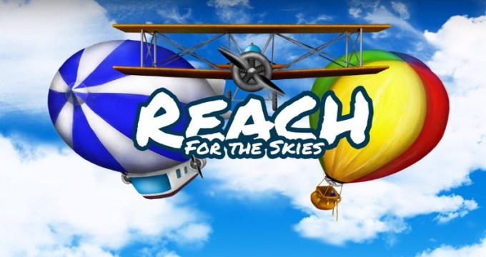 Reach for the skies - gra mobilna